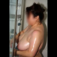 Nude Friend: Connie's Shower