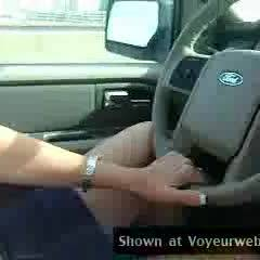 Topless Wife: *DT Sexy Wife Driving Topless