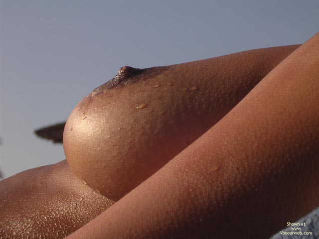Close up on big naked boobies 3