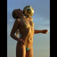 Soccer Babe - Blonde Hair, Long Hair, Perky Tits, Small Breasts, Small Tits, Naked Girl, Nude Amateur, Nude Wife , Camel Toe, Non Nude, Slim And Sexy, Soccer Ball, Micro Tits, Small Perky Breasts, String Bikini