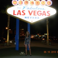 Nude Wife on heels: Nina In Las Vegas
