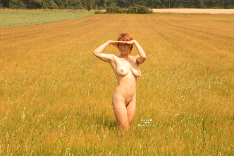 Nude Wife - Big Tits, Landing Strip, Natural Tits, Red Hair, Naked Girl, Nude Amateur, Nude Wife , Full Frontal, Curvy Body, Short Red Hair, Slim Body, Nude Outdoors, Short Hair, Big Natural Tits Outdoors, Corn Field, Frontal Pose