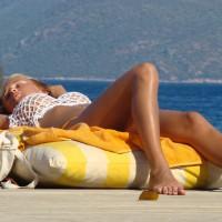 Beach Voyeur:Russian Girls At Turkish Coast - 2