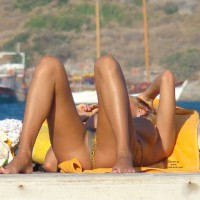 Beach Voyeur: Russian Girls At Turkish Coast -3
