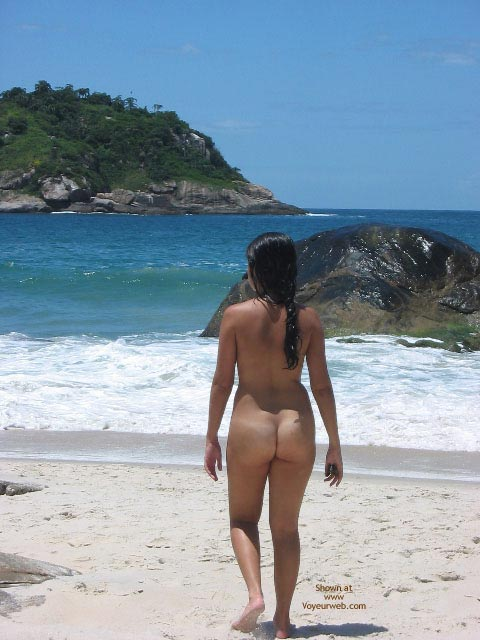 Pic #1Ly At A Nude Beach, Abrico - Rj - Part