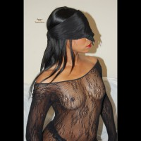 Black Girl Blind Folded In See Through Top - Black Hair, Brunette Hair, Erect Nipples, Hard Nipple, Long Hair, Small Tits, Topless , Dark Sexy Brunette Lady, Painted Lips, See-thru Top, Hard Black Nipples, Topless Amateur, Black Blindfold, Beautiful Blind Folded Black Beauty