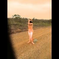 Nude Amateur on heels:*SP Sunset
