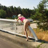 Amateur Exhibitionist - Exhibitionist, Milf, Naked Girl, Nude Amateur , Amature Milf, Bubble Butt, Public Nudity, Greasing The Pole, Nude Me, Hanging Tit, Blond Milf, Bottomless, German Bridge Cleaning Crew