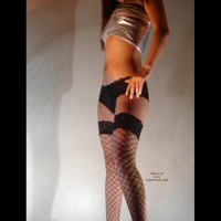 Daniela: High Heels  N   Fishnet Stockings