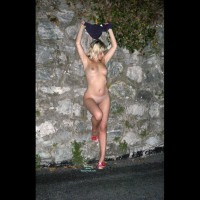 Nude Wife on heels:*SP On The Road...