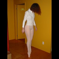 Balerina On Toes - Red Hair, Naked Girl, Nude Amateur , Up On Toe Shoes, Ballet Ass, Standing In Pantyhose, Pantyhose, Standing In A Corridor, Girl In White Pantyhose, Sexy Figure, White Shirt, Hidden Assests, Gold Toe Shoes, White Panty Hose, Girl Toe Dancing, White Pantyhose, Face Hidden Behind Hair