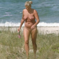 Danish wife at the Beach