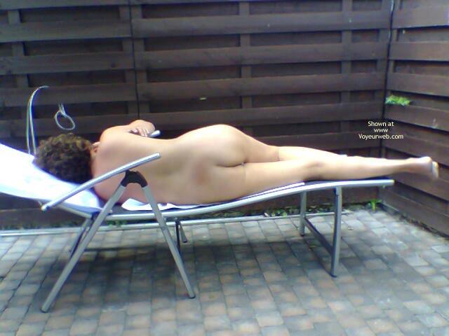 Pic #1Gf Nude Sunbathing