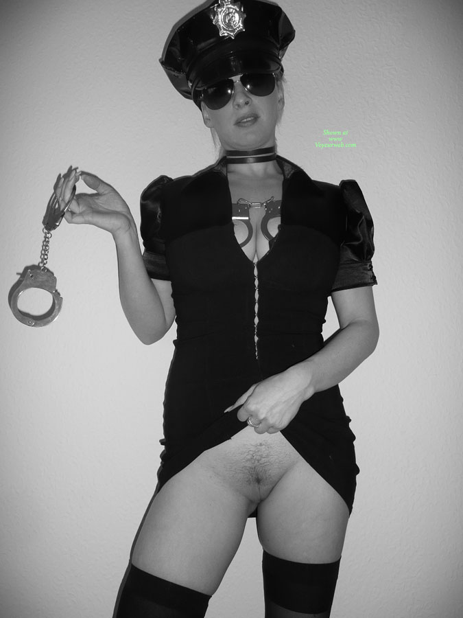 Nude Wife In Police Uniform - Brunette Hair, Flashing, Shaved Pussy, Naked Girl, Nude Amateur, Nude Wife , Standing With Cuffs, Flashing Pussy, Handcuffs, Arrest Position, Hot Wife, Hot Cop, Cuff And Muff, Pulling Skirt Up, Jailhouse Babe, Sexy Cop