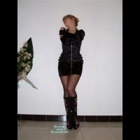 Nude Wife on heels:*FD Strip