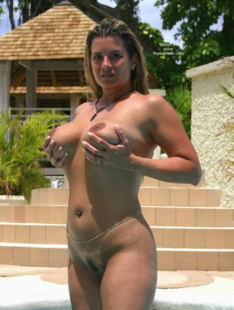 Holding Up Own Breasts - Big Tits, Blonde Hair, Navel Piercing, Nude Outdoors , Holding Up Own Breasts, Nude Outdoors, Naked In Pool, Topless Outdoor, Boobs In The Sun, Touching Self Outdoors, Belly Band, Blond Hair, Navel Piercing, Huge Tis, Big Tits