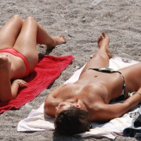 Beach Voyeur: Nice... France # 7