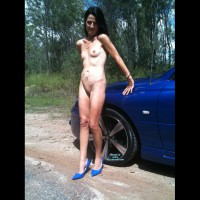Nude Wife on heels:Jeni: Just A Reminder