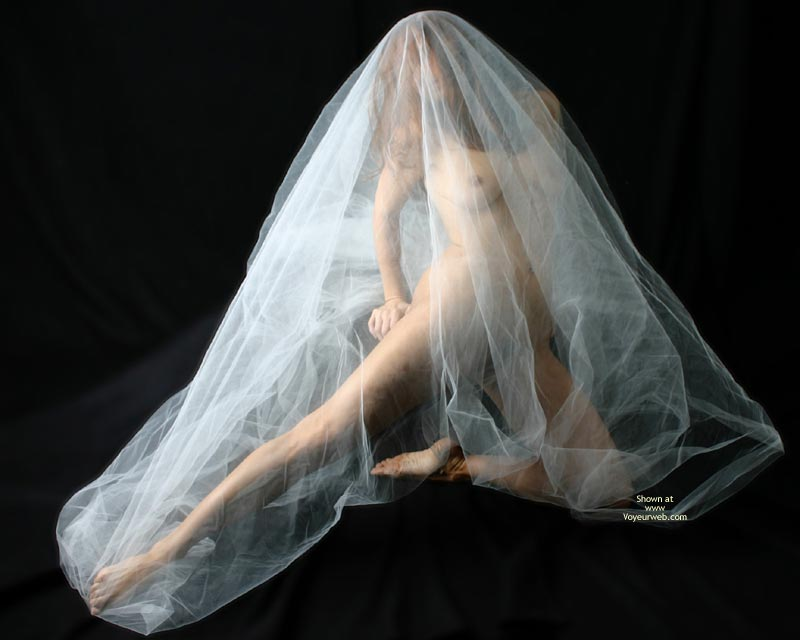 Sheer Nude - Nude Amateur , Artistic Photo, Mature Woman, Nude Under Vail, Sheer Beauty, Veiled Virgin, Artistic Full Body Nude, Covered Naked, Sheer Elegance, Nude Under Veil