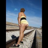 Nude Amateur on heels:Contri Susana