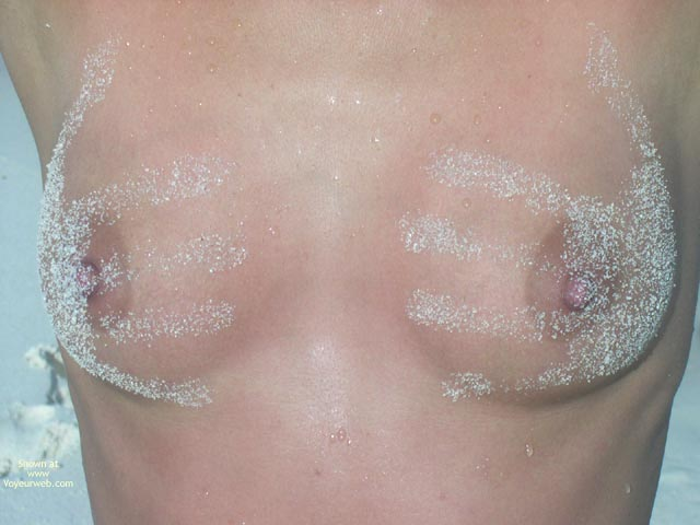 Hand Print On Tits - Erect Nipples, Small Breasts , Summer Holidays, Hands On, Sandy Boobs, Sand Traces On Tits, Hand Print, The Girls Of Summer, Natural Breasts, A Handful, Tits With Sand Traces On Them