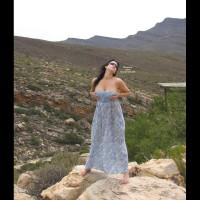 Nude Wife on heels:Rock Hard