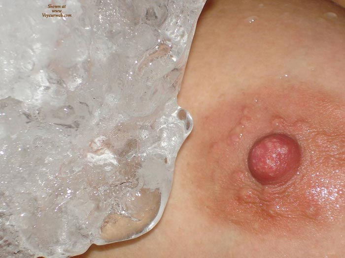 Ice Nipple , Iced Delight, Cool Nipple, Ice Tit