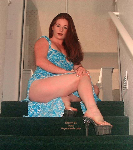 Pic #1 Ariel Is A Beauty On Stairs