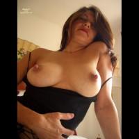 Erect Nipples - Erect Nipples, Long Nipples, Sultry Look, Top , Erect Nipples, Black Top, Nipple Delights, Topless With A Sultry Look, Long Nipples