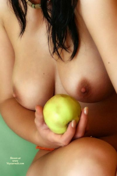 Artistic Nude - Artistic Nude , Artistic Nude, Breasts With Food, Fresh Fruit, Classic Temptation, Breasts