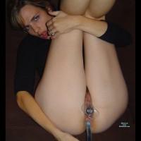 amateur her legs spread nude