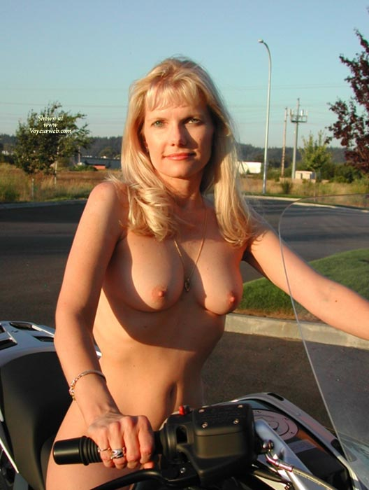 Nude Lady On Bike - Blonde Hair, Hard Nipple, Natural Tits, Perfect Tits, Topless, Naked Wife, Nude Amateur, Nude Wife , Biker Ride Naked, Blonde Biker, Ultimate Biker Babe, Blond Topless In Sunshine, Green Eyes, Natural Breasts, Nude Sitting On Motorbike, Nude On Bike