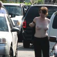 Topless Woman In Parking Lot - Exhibitionist, Nude In Public, Topless, Nude Amateur , Topless Redhead In Traffic, Changing Her Top On Parking Lot, Exposing Tits In Public, Pretty Breasts, Nude At Traffic Jam, Parking Lot Exposed, Traffic Jam Cause, Exhibitionist On Parking Lot, Topless Me, Public White Tits