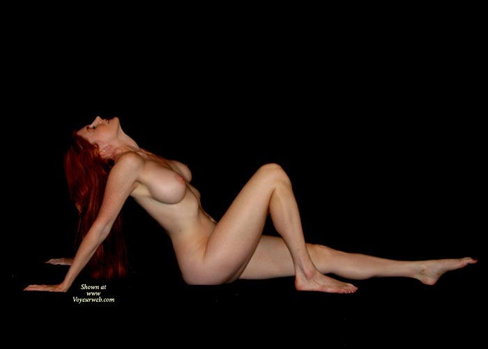 Sexy Curves - Long Hair, Long Legs, Red Hair , Skinny Red Head, Pink Nipples, Red-haired Naked Angel, Head Tilted Back, One Knee Drawn Up, Perfectly Firm Boobs, Long Red Hair, Round Breasts, Leaning Back On Arms, Flowing Red Hair, Tear Drop Breasts, Pointy Chin, Full Breasts, Teardrop Breasts, Lovely Long Red Hair, Long Body