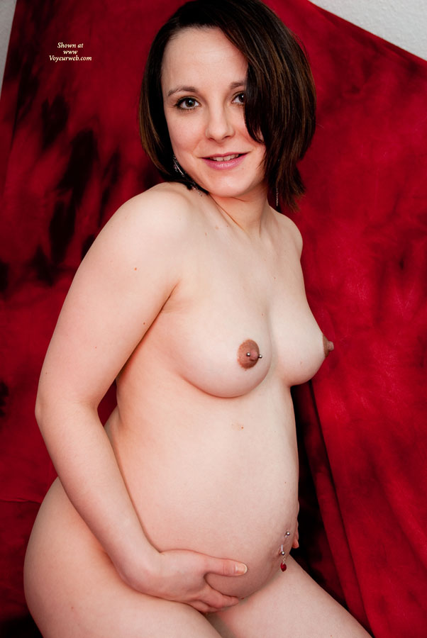 Nude Pregnant Wife - Brown Hair, Pierced Nipples, Naked Wife, Nude Amateur, Nude Wife , Pierced Right Nipple, Dark Red Nipples, Pierced Belly Button Holding Back Baby, Short Brown Hair, Natures Hand Full, Pregnant Beauty, Pierced Dark Nipples, Hands On Pregnant Belly