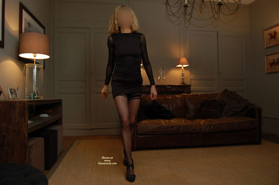 My Leggy Marylou , At Home, Before To Go Out..