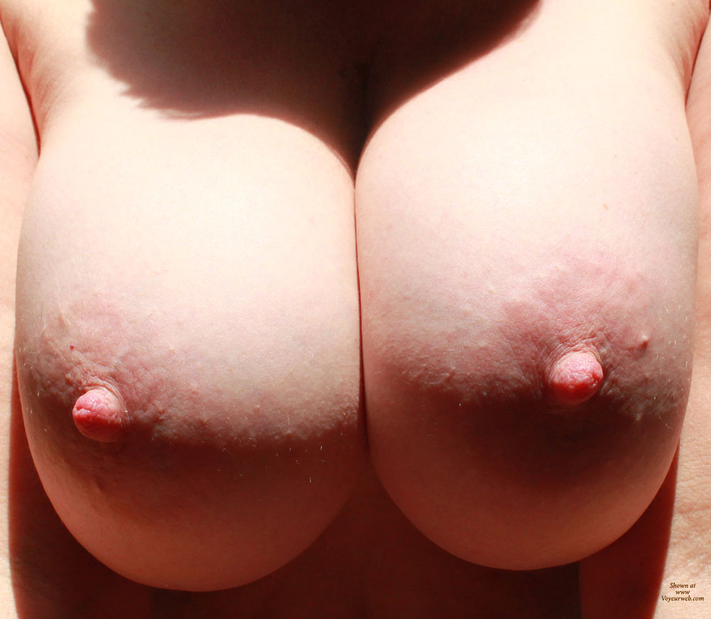nude big breast closeup