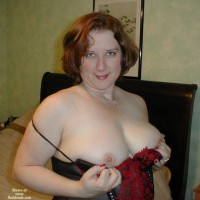 First Time Lady In Red