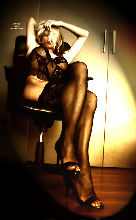 Lace Stockings ... , Office Interrogation