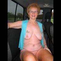Mature Grandmother Leaving Park