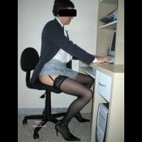 Monica At Work