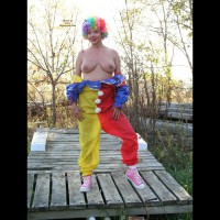 Natalie Clowning Around