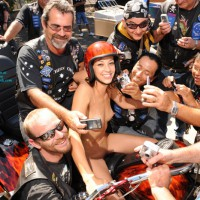 Brave Nude Girl, Naked In Crowd Of Men - Small Tits, Naked Girl, Nude Amateur , Big Smile, Horney Bikers Taking Cell Phone Photos, Tiny Titted Skinny Girl Seeking Attention, Nude On Motorcycle, Helmet Head, Event Voyeur, Attention Magnet, Biker Babe