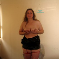 Saucy Sue Massive Breasts After Work