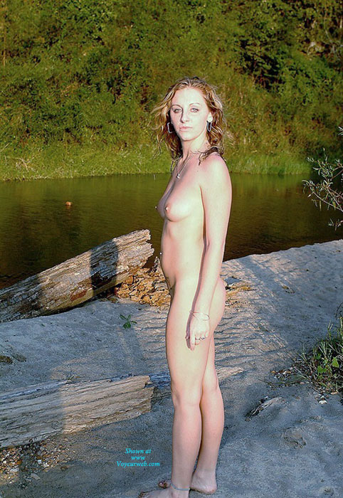 Freckled , Just Getting Naked As Any True Nudist Would