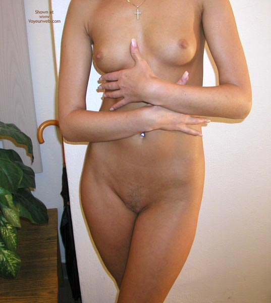 Shaved Pussy - Shaved Pussy, Small Breasts, Sexy Body , Shaved Pussy, Headless Body, Cross Necklace, Small Breasts, Manicured Nails, All Over Tan, Standing Against Wall