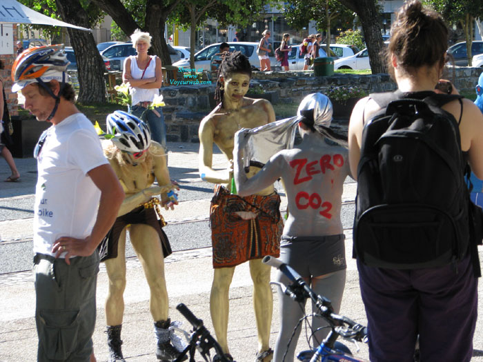 Cape Town Naked Bike Ride 12 March 2011 , As Far As I Can Establish, This Is Cape Town's First Naked Bike Ride