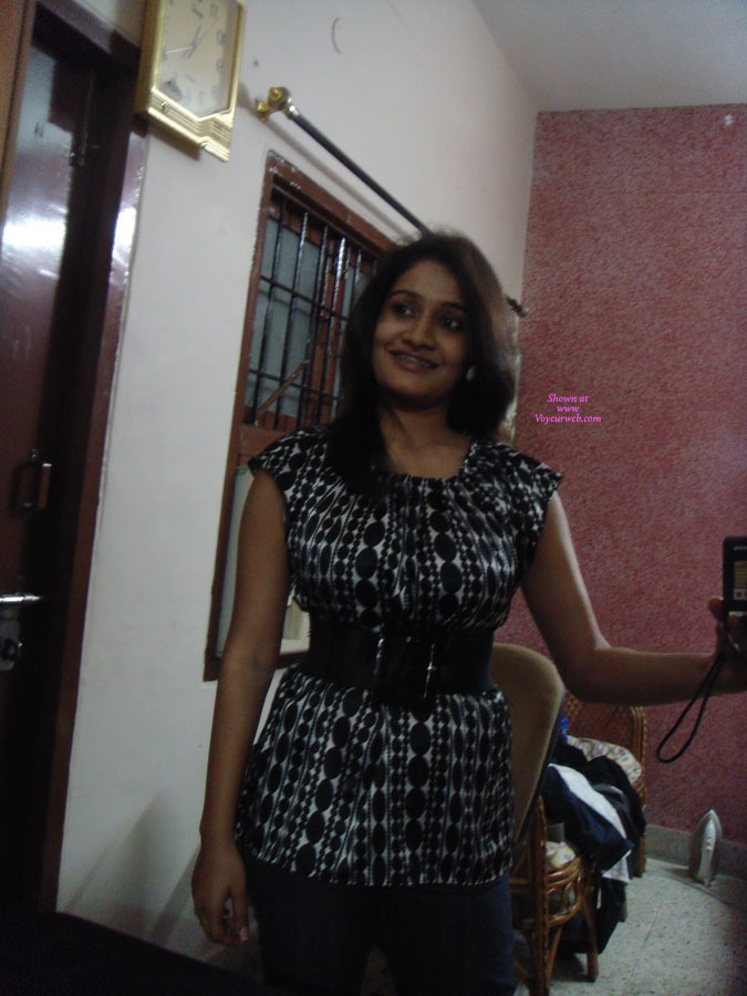 Sowmya - Naughty Indian Wife , Sowmya, My Friends Wife, Sends Me These Teasers, Comment More And Get More.........
