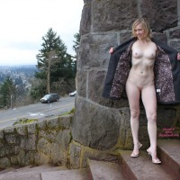 Open Coat Flash - Blonde Hair, Exhibitionist, Flashing, Shaved Pussy, Small Breasts, Nude Amateur , White Milky Skin, Public Flashing, Stone Cold Flasher, Short Haired Blond Flashing, Pink Pussy, Flashing Her Twolly, Nude Amateur On Heels, Shaved Crotch