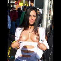 Flashing Tits - Black Hair, Flashing , White Top, Cute Tits, Pretty Brown Eyes And Tits, Slim And Fit Body With Tit Nip, Tan Beauty, Mardi Gras Tits, Flashin Outside, Festival Voyeur, Tan Titties, Nice Boobies For Holding, Dark Haired Exposing, Long Dark Haired Flasher